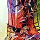 """Шарфы и шарфики ручной работы. шарф в технике нунофелт """"Прозрачной сети паутина.."""".. Людмила Шеломкова (Mila-Shel). Ярмарка Мастеров."""