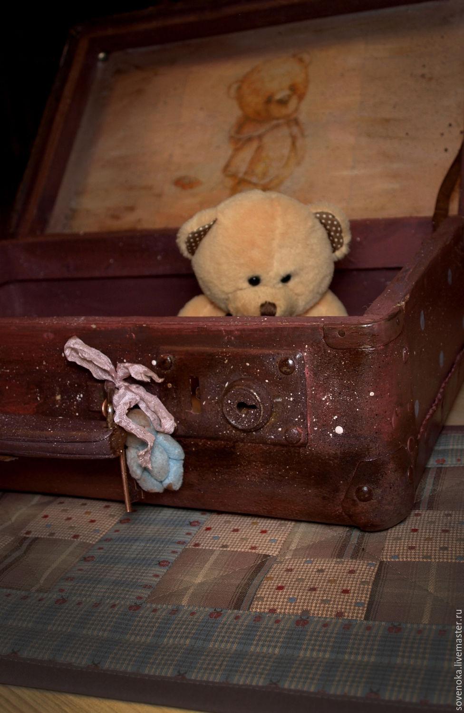"Чемоданчик ""Vintage teddy bear"""