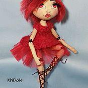 """Куклы и игрушки ручной работы. Ярмарка Мастеров - ручная работа Кукла текстильная ручной работы """"Девочка-вампир"""". Handmade."""