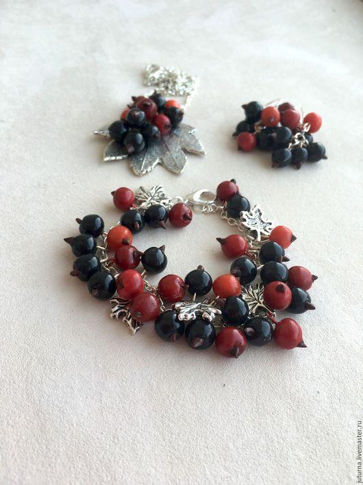 браслет,браслет ягодный,комплект ягодный,украшение из ягод,купить комплект украшений,купить браслет,ягодный браслет,украшение для девушки.