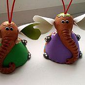 Колокольчики ручной работы. Ярмарка Мастеров - ручная работа Слон колокольчик, ручная работа, собственное производство. Handmade.