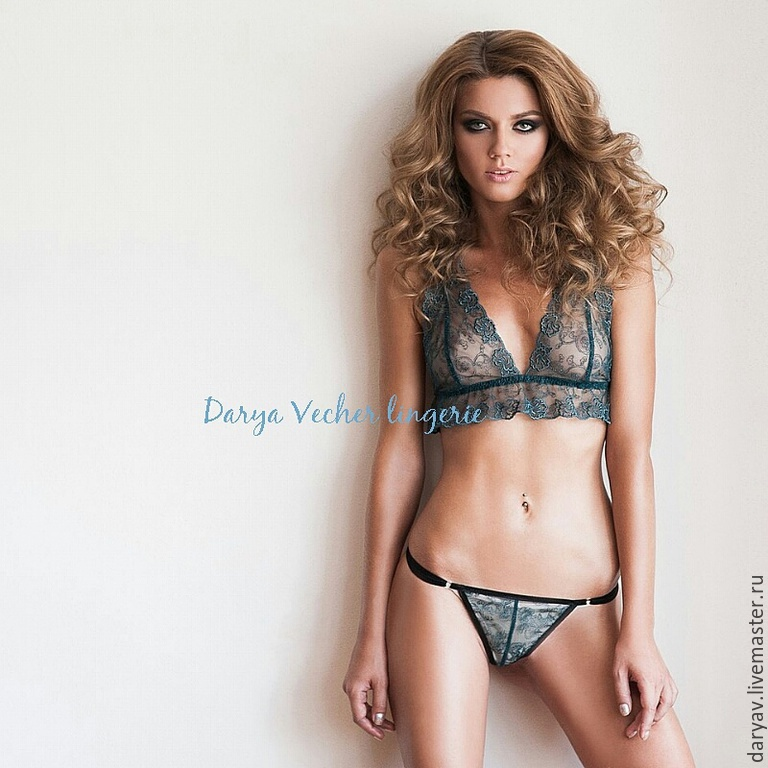 Lingerie set emerald, Underwear sets, St. Petersburg,  Фото №1