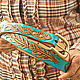 Women's leather belt handmade. Straps. schwanzchen. Online shopping on My Livemaster.  Фото №2