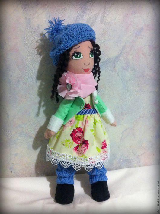 Куклы тыквоголовки ручной работы. Ярмарка Мастеров - ручная работа. Купить Куколка кудряшка Сью. Handmade. Комбинированный