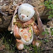 Куклы и игрушки ручной работы. Ярмарка Мастеров - ручная работа Пион зайка тедди. Handmade.