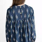 Одежда handmade. Livemaster - original item Women`s linen Liana dress (suitable for pregnant and nursing women). Handmade.