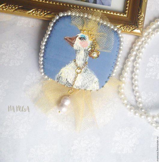 """Броши ручной работы. Ярмарка Мастеров - ручная работа. Купить Брошь """"Леди Гага"""". Handmade. Авторская брошь купить"""