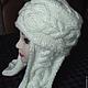 Шапки ручной работы. Ярмарка Мастеров - ручная работа. Купить шапка с ушами, шапка ушанка, шапка шлем. Handmade.