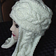 Шапки ручной работы. Ярмарка Мастеров - ручная работа. Купить шапка с ушами, шапка ушанка, шапка шлем. Handmade. Шапка