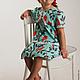"""Одежда для девочек, ручной работы. Ярмарка Мастеров - ручная работа. Купить Платье для девочки из американского хлопка """"Нина"""". Handmade. Птицы"""