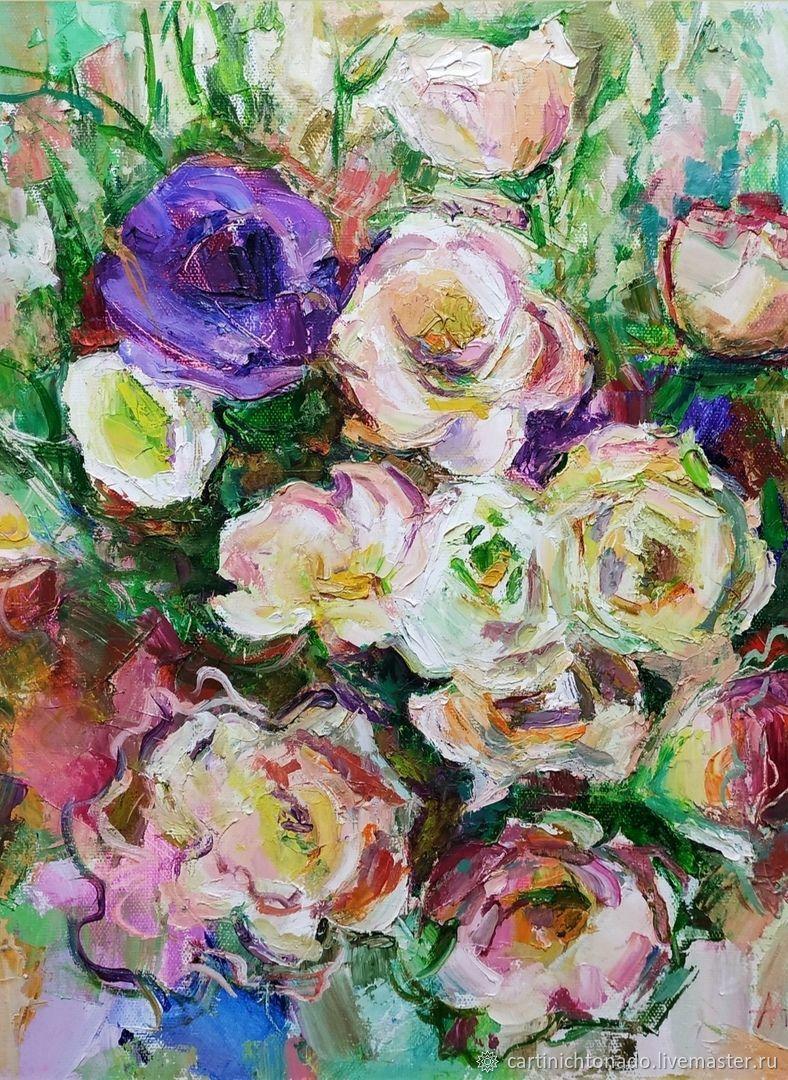 Цветы, Картины, Севастополь,  Фото №1