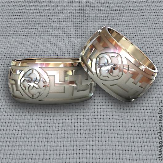 Кольцо `Свадебник` из серебра 6-12гр. 1200-2300руб.- Под заказ (5дней).
