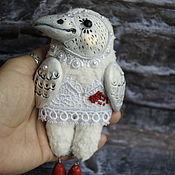 Куклы и игрушки handmade. Livemaster - original item Mini figures and figurines: WHITE CROW. Handmade.