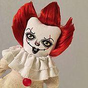 Портретная кукла ручной работы. Ярмарка Мастеров - ручная работа Пеннивайз. Handmade.