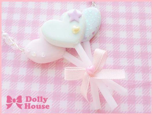"""Колье, бусы ручной работы. Ярмарка Мастеров - ручная работа. Купить Колье """"Pastel Marshmallows"""". Handmade. Dolly house"""