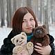 Мишки Тедди ручной работы. Медвежонок Барри. Мария Пакман - мишки Тедди (Maria-jgorsk). Ярмарка Мастеров. Тедди медведи