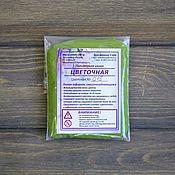 Глина ручной работы. Ярмарка Мастеров - ручная работа Полимерная глина Цвет травяной 25 гр. Handmade.