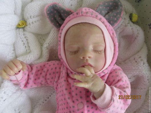 Куклы-младенцы и reborn ручной работы. Ярмарка Мастеров - ручная работа. Купить кукла реборн Лина. Handmade. Бежевый