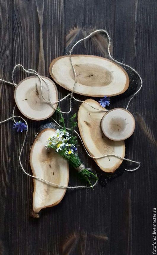 Другие виды рукоделия ручной работы. Ярмарка Мастеров - ручная работа. Купить спил дерева. Handmade. Спил, деревянный декор