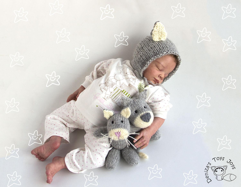 Шапочка для новорожденного мк