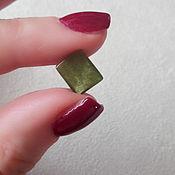 Материалы для творчества handmade. Livemaster - original item Green tourmaline. Handmade.