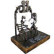 Подарки к праздникам handmade. Livemaster - original item Steel wedding №4. Handmade.