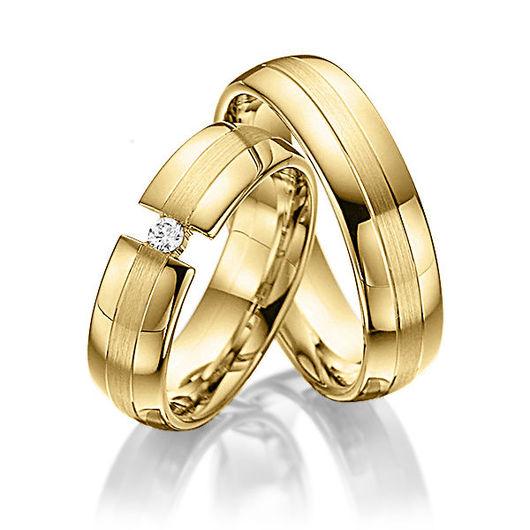 Свадебные украшения ручной работы. Ярмарка Мастеров - ручная работа. Купить Обручальные кольца Modern 33-304 NEW. Handmade.