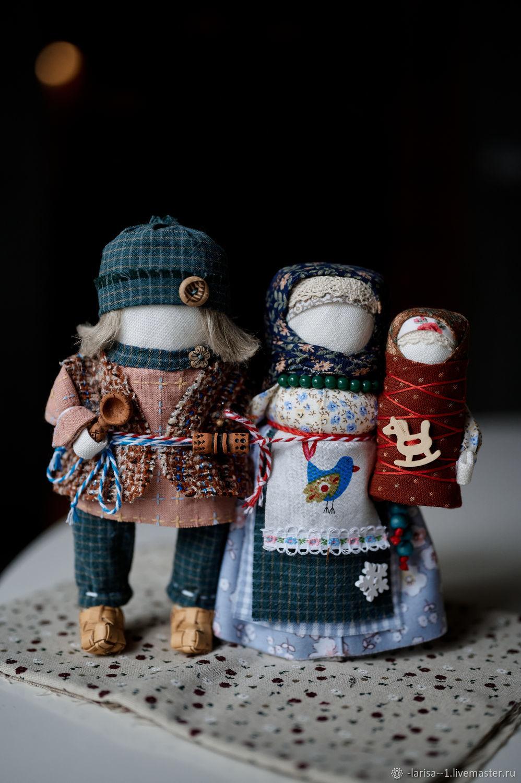 Семья «Любви великой царство» народные куклы, Народная кукла, Обухово,  Фото №1