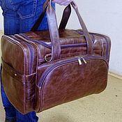 Сумки и аксессуары handmade. Livemaster - original item Bag leather travel 205. Handmade.