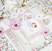 Канцелярские товары ручной работы. Ярмарка Мастеров - ручная работа мамины заметки, мамин блокнот, мамин дневник для девочки. Handmade.