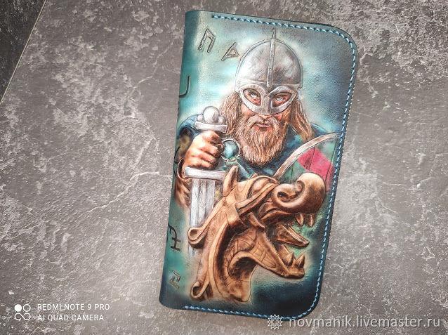 Портмоне (кошелек, бумажник) на молнии № 1, Кошельки, Ковров,  Фото №1