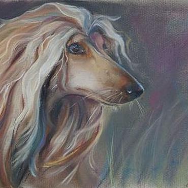 Картины и панно ручной работы. Ярмарка Мастеров - ручная работа Блондинка. Handmade.