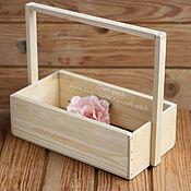 Цветы и флористика ручной работы. Ярмарка Мастеров - ручная работа Ящик для цветов # 9. Handmade.