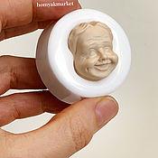 Материалы для творчества handmade. Livemaster - original item Mold # №19 Babulya (form for making a face). Handmade.