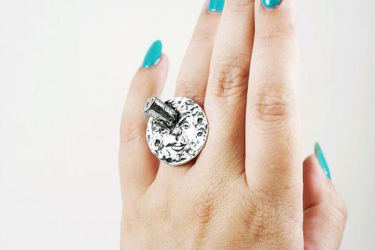 Кольца ручной работы. Ярмарка Мастеров - ручная работа. Купить Серебряное кольцо LE VOYAGE DANS LA LUNE. Handmade.