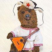 Куклы и игрушки ручной работы. Ярмарка Мастеров - ручная работа Мишка Тедди -  Фёдор. Handmade.