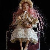 """Куклы и игрушки ручной работы. Ярмарка Мастеров - ручная работа """"Простудился...Лечу....)))"""". Handmade."""