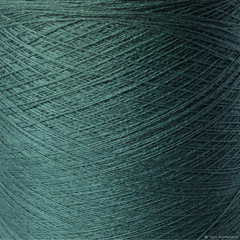 Пряжа Кашемир 2/28 нефрит – купить на Ярмарке Мастеров – MP2RQRU | Пряжа, Санкт-Петербург