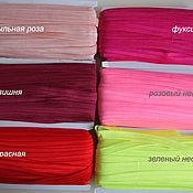Ribbons handmade. Livemaster - original item Binding elastic. Handmade.