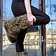 """Обувь ручной работы. Ярмарка Мастеров - ручная работа. Купить Валяные ботинки """" Мандачиван"""". Handmade. Валенки, тапочки валяные"""