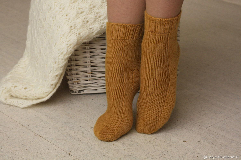 Socks of fine wool 'Spices', Socks, Moscow,  Фото №1