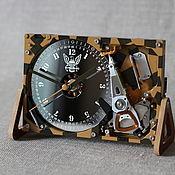 Для дома и интерьера handmade. Livemaster - original item Watch from the hard disk No. №19 (Military) computer gift. Handmade.