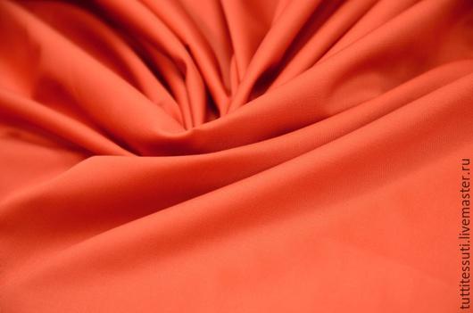 Шитье ручной работы. Ярмарка Мастеров - ручная работа. Купить Хлопок-диагональ 02-003-2261. Handmade. Оранжевый, диагональ