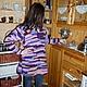 Кофты и свитера ручной работы. Туника в стили бохо. Ирина Мануилова. Интернет-магазин Ярмарка Мастеров. Абстрактный, туника вязаная