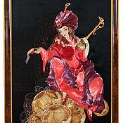 Картины и панно ручной работы. Ярмарка Мастеров - ручная работа Колдунья. Handmade.