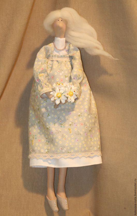 Куклы Тильды ручной работы. Ярмарка Мастеров - ручная работа. Купить Тильда  беременяша. Handmade. Бежевый, тильда беременяшка