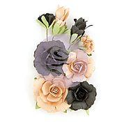 Материалы для творчества handmade. Livemaster - original item Set 597115 Colors Fearless Zella Teal Prima Flowers. Handmade.
