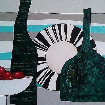 """Картины и панно ручной работы. Ярмарка Мастеров - ручная работа Картина """"Летнее время"""" на холсте. Handmade."""
