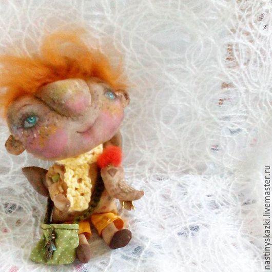 Коллекционные куклы ручной работы. Ярмарка Мастеров - ручная работа. Купить Нико, интерьерная текстильная кукла, смешной человечек. Handmade.
