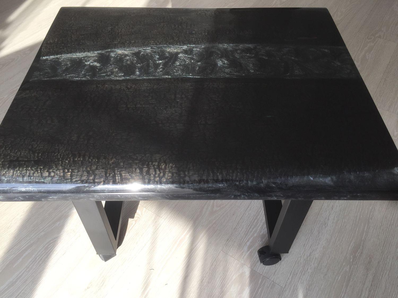 Стол в стиле лофт из эпоксидной смолы, Столы, Тольятти,  Фото №1